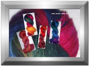 Hexen-Wolle: Vom farblosen Strang zum wunderschönen Unikat