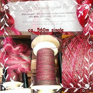 Wolle von Regenbogenwolle auf Dawanda